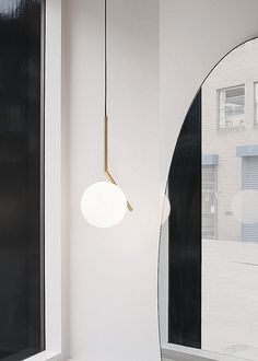 FLOS IC Lights modern pendant lamp by Michael Anastassiades. Enjoy off FLOS decorative products, including iconic styles and contemporary best-sellers, through October with code Pendant Lamp, Pendant Lighting, Brass Lamp, Modern Chandelier, Chandelier Lighting, Lighting Design, Modern Lighting, Lighting Ideas, House Lighting