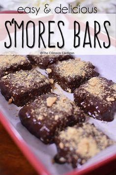 No bake smores bars