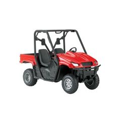 New-Ray 1:12 Camouflage and Red Side by Side Hunting ATV