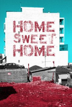 """""""Home Sweet Home"""" from my project """"Alternative Snapshots of Our World"""" Our World, Sweet Home, Alternative, Projects, Movie Posters, Log Projects, Blue Prints, House Beautiful, Film Poster"""