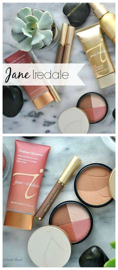 Jane Iredale non toxic beauty review with over 10 products via www.eatdrinkshrink.com - Video Review