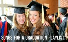 Customize a commencement playlist using these rock, pop, RB, and country favorites. Choose from songs that uplift and encourage, reflective graduation songs and bittersweet songs that say goodbye. Graduation Songs, Pre K Graduation, Graduation Party Planning, Graduation Ideas, Graduation Parties, Graduation Celebration, Party Playlist, Party Songs, Song Playlist