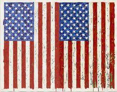Jasper+Johns+(b.+1930),+Flags+I,+1973