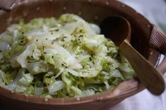 Quick Cabbage with Mustard Seeds #recipes #sides