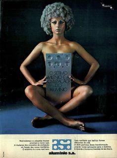 Alumínio S.A. #Brasil  #anos70  #retro #anunciosAntigos #vintageAds
