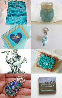 turquoise by Carmelisa D'Antone on Etsy--Pinned with TreasuryPin.com