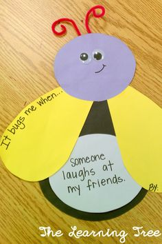 Great activity for the therapist to learn what triggers certain behaviors in children!