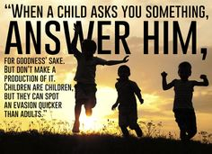 """On the wisdom of children: 