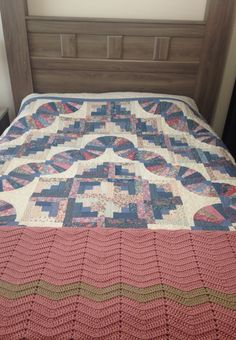 quilt with afghan