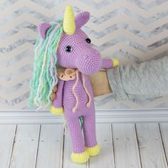 Need something unique and handmade for a special occasion? This fairy shy unicorn amigurumi can make a great gift! Crochet it with our step-by-step crochet pattern and personalize it with colors, embroidery, or some cute decorations.