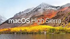 Mac OS X High Sierra ISO and DMG