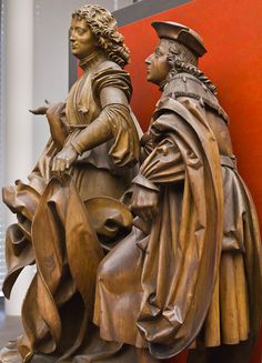 Veit Stoss_Detail Raphael u. Abstract Sculpture, Bronze Sculpture, Wood Sculpture, Metal Sculptures, Wooden Statues, Museum, Medieval Art, How To Antique Wood, Middle Ages