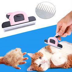 MAIKEHIGH Pet Deshedding Grooming Tool Fur Shedding Rake Epilation Comb Trimmer Brush Remove Grooming Brush for Dog Cat: Amazon.co.uk: Pet Supplies