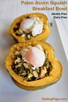 Acorn Squash Breakfast Bowl