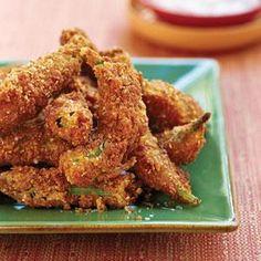 Fried Pecan Okra | MyRecipes.com
