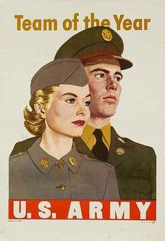 Korean War era poster