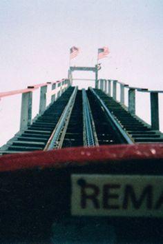 Summer roller coaster.