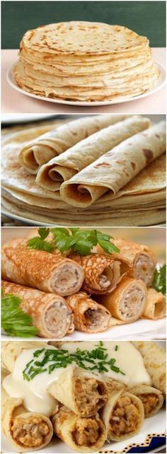 Healthy Dinner Ideas for Delicious Night & Get A Health Deep Sleep A Food, Good Food, Food And Drink, Yummy Food, Low Carb Recipes, Cooking Recipes, Healthy Recipes, Crepes, Gluten