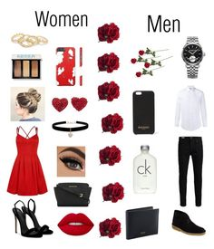 """""""Valentine's fancy date!❤"""" by queenfashionist3 ❤ liked on Polyvore featuring Giuseppe Zanotti, Lime Crime, Bobbi Brown Cosmetics, MICHAEL Michael Kors, Jack & Jones, Gucci, Clarks, Raymond Weil, Balmain and Calvin Klein"""