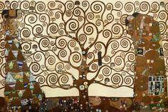 El árbol de la vida, Stoclet Frieze, c.1909 Lámina