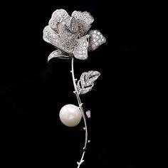 b8d7ab4bd 20 Best brooch images in 2018 | Flower brooch, Brooch, Brooches