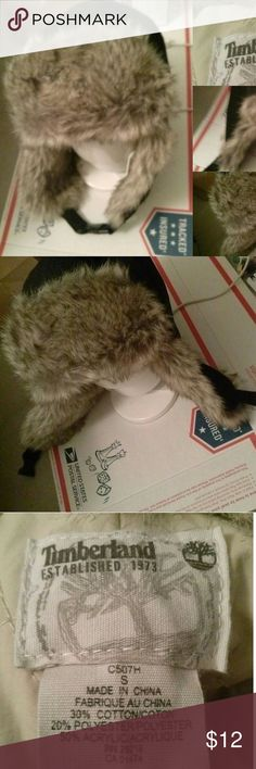 TIMBERLAND TRAPPER HAT Mens small Lightly worn a handfull of times. Kept clean. No flaws. Timberland Accessories Hats