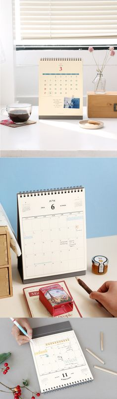 The 2016 Desk Scheduler is a simple and useful addition to your office desk. It includes a total of 32 pages and when displayed, it has a monthly scheduler on one side and a calendar on the other. It even has an Out of Office sign to let your co-workers know when you are out and about! Get started now as the calendar begins November 2015 and carries on through December 2016!