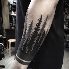 half sleeve tattoo by anspham
