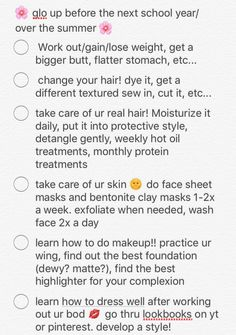 Want more? Follow itsbrillz ✨ on Pinterest. Makeup For College, Makeup For School, Hoe Tips, Back To School Glo Up, Girl Life Hacks, Girls Life, Baddie Tips, Beauty Makeup, Hair Beauty