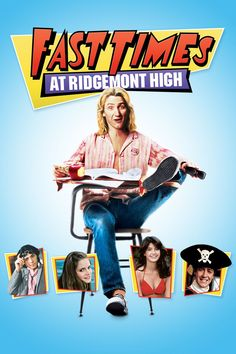 Tap Poster to detail & you can Watch Full Fast Times at Ridgemont High For Free - Watch HD Quality Movies Online Classic Comedy Movies, Comedy Movies On Netflix, Action Comedy Movies, Romantic Comedy Movies, Classic Comedies, Teen Movies, Iconic Movies, Horror Movies, 1980's Movies