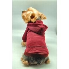 Pullover Sweatshirt- Red- Apparel- Shirts and Hoodies Posh Puppy Boutique #dog #puppy #dogproducts @poshpuppyboutique