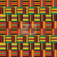 African Wall Patterns