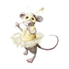 ldavi-mousemasque-PansyPinktailwithhercheeseicecreamtutu2.png ❤ liked on Polyvore featuring animals, mice, rodentia, art and mouse