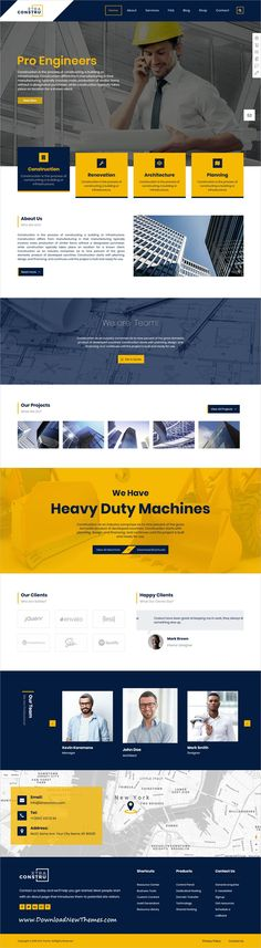 Xtra is clean and modern design responsive multipurpose #WordPress theme for stunning #architects and #construction website with 30+ niche homepage layouts to download & live preview click on image or Visit #webdesign