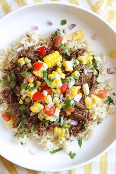 If you like cumin and spicy food, then you'll love Barbacoa Beef. Spicy shredded beef braised in a blend of chipotle adobo, cumin, cloves, garlic and oregano.