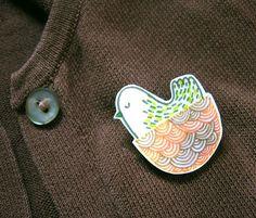 Gemma's brooch