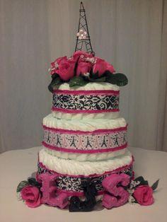 Paris dipper cake I made