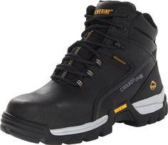 Wolverine Men's Tarmac Work Boot,Black,13 XW US