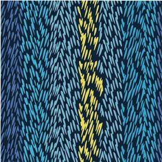Thorns Fabric, Blackberries Aquarius Pool Bridge, featured on Guildery