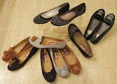 Calzados NIZA y ZAS Shoes: Zapatitos planos, ¡con brillos y detalles!