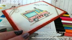 """Sale-A-Bration free Set called Tasty Trucks, can be yours for free with any purchase of $90!  Spend $180? Get two free items, it's that simple Handcrafted by Virginia """"Wirg""""  Hampson Stamp Out Your Art With Virginia! © 2016 Stampin'Up!  http://stampoutyourartwithvirginia.stampinup.net/"""
