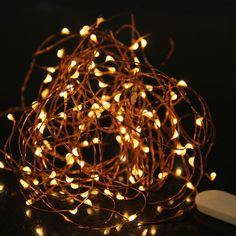 3M Copper Wire LED String Waterproof Fairy Light Outdoor For Wedding Decoration With Battery - Wedding Look