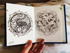 Mandala Journaling (When Words Escape Me)   Sara Roizen, Art Therapist