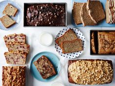 Consult Food Network's banana bread guide for gluten-free banana bread, chocolate banana bread, peanut butter banana bread and more.