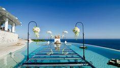 Karma Kandara resort cliff wedding venue