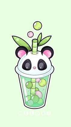 Je me d tends gr ce lunivers Kawaii # Tea Wallpaper, Kawaii Wallpaper, Cute Wallpaper Backgrounds, Cute Food Drawings, Cute Animal Drawings Kawaii, Food Drawing Easy, Arte Do Kawaii, Kawaii Art, Panda Wallpapers