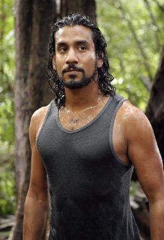 Naveen Andrews as Sayid Jarrah (Lost)