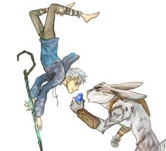 Is that your best? by ASAMESHII.deviantart.com #jackrabbit - Rise of the Guardians