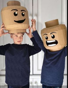Zygote Brown Designs teaches you how to make fun DIY costumes and other projects out cardboard. Zygote Brown Designs teaches you how to make fun DIY costumes and other projects out cardboard. Cardboard Costume, Cardboard Mask, Cardboard Crafts, Diy Lego Costume, Cardboard Spaceship, Cardboard Boxes, Cool Diy, Fun Diy, Carton Diy