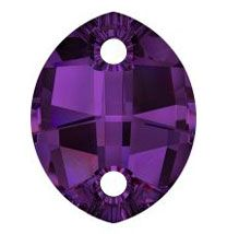 Swarovski Sew on Stone Amethyst art. 3224  #Quilting #Innovations